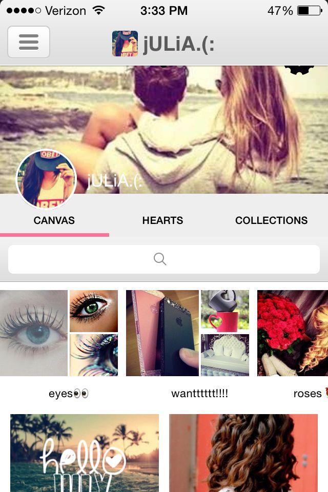 Follow me on