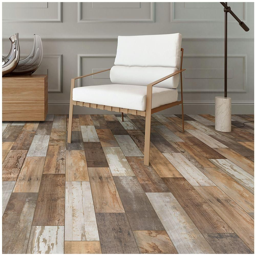 MARAZZI Montagna Wood Vintage Chic In X In Porcelain Floor - Cost to tile 1500 sq ft