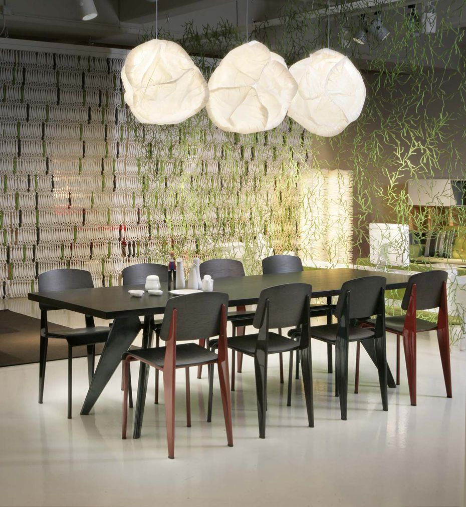 Vitra Standard Chair Door Jean Prouve Design Oostende Dining Chairs Furniture Prouve
