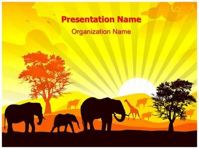 African wildlife powerpoint template is one of the best powerpoint african wildlife powerpoint template is one of the best powerpoint templates by editabletemplates toneelgroepblik Gallery