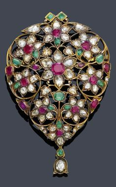 Image result for expensive brooches | Flora | Emerald