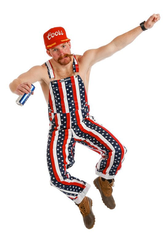 These Overalls Are Available For Pre Order They Will Be Delivered June 2017 Either You Just Fell In Love American Flag Clothes Party Shirts Men Usa Outfit