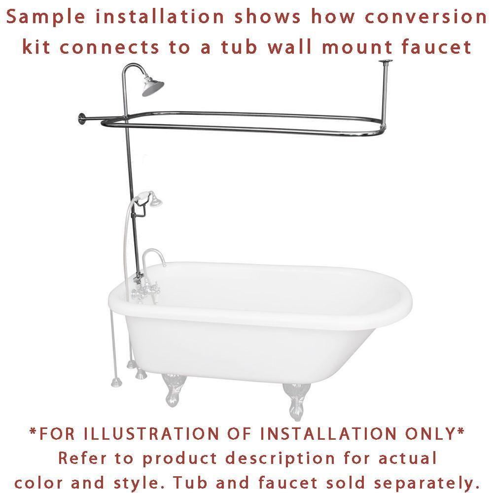 Installing A Clawfoot Tub Shower With Video Guide Clawfoot Tub