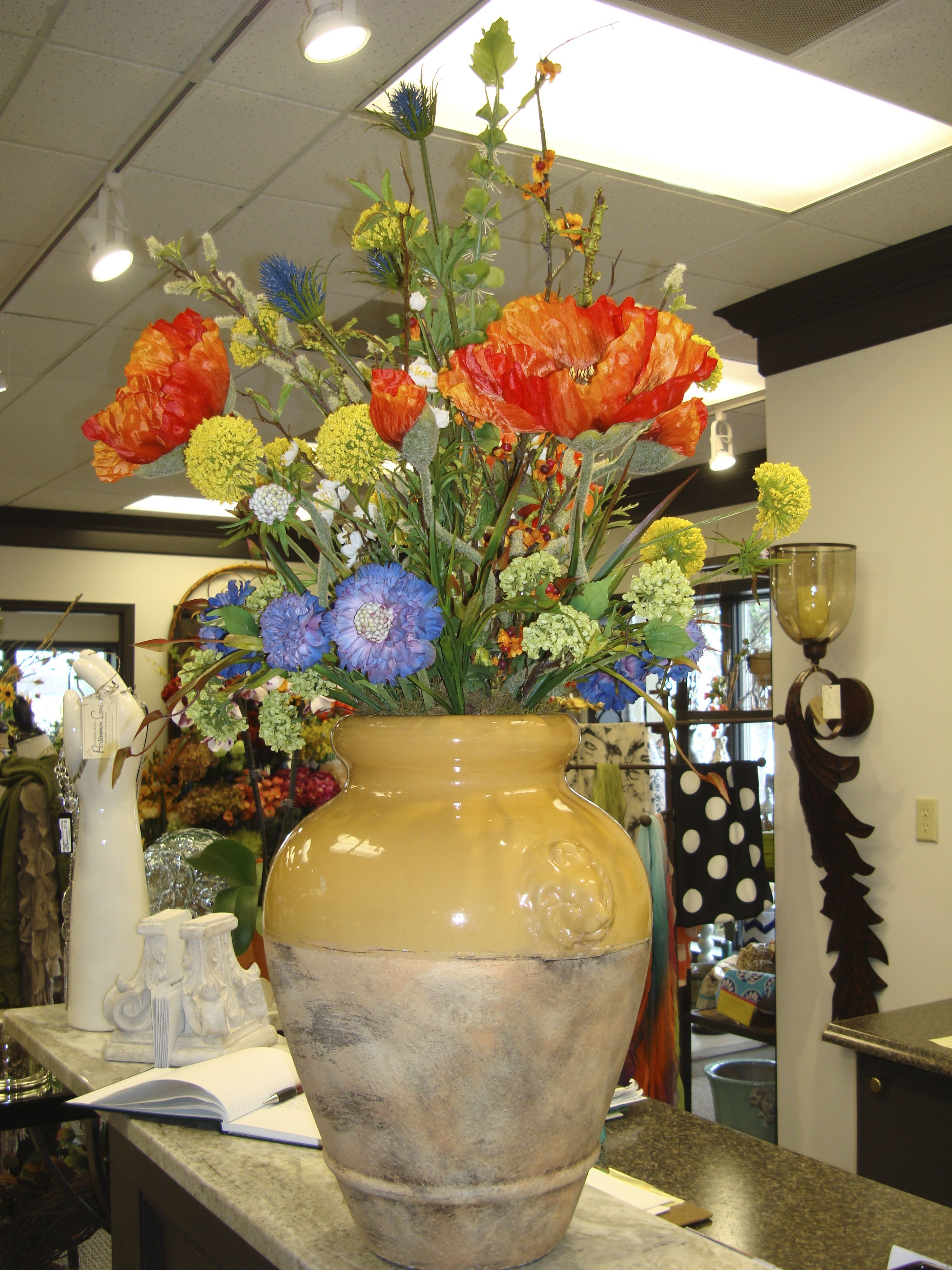 Gorgeous poppy summer floral from Persimmon Lane!