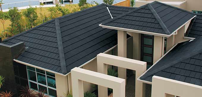 Monier Nullarbor House Terracotta Roof Tile Colour Granite