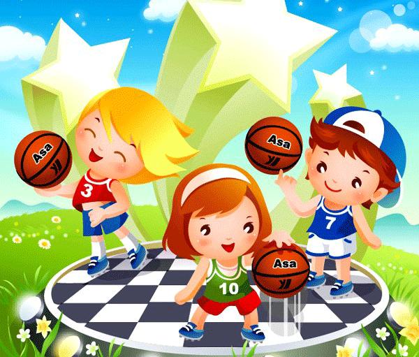 Niños haciendo deporte para imprimir | Deportes | Pinterest | Deporte