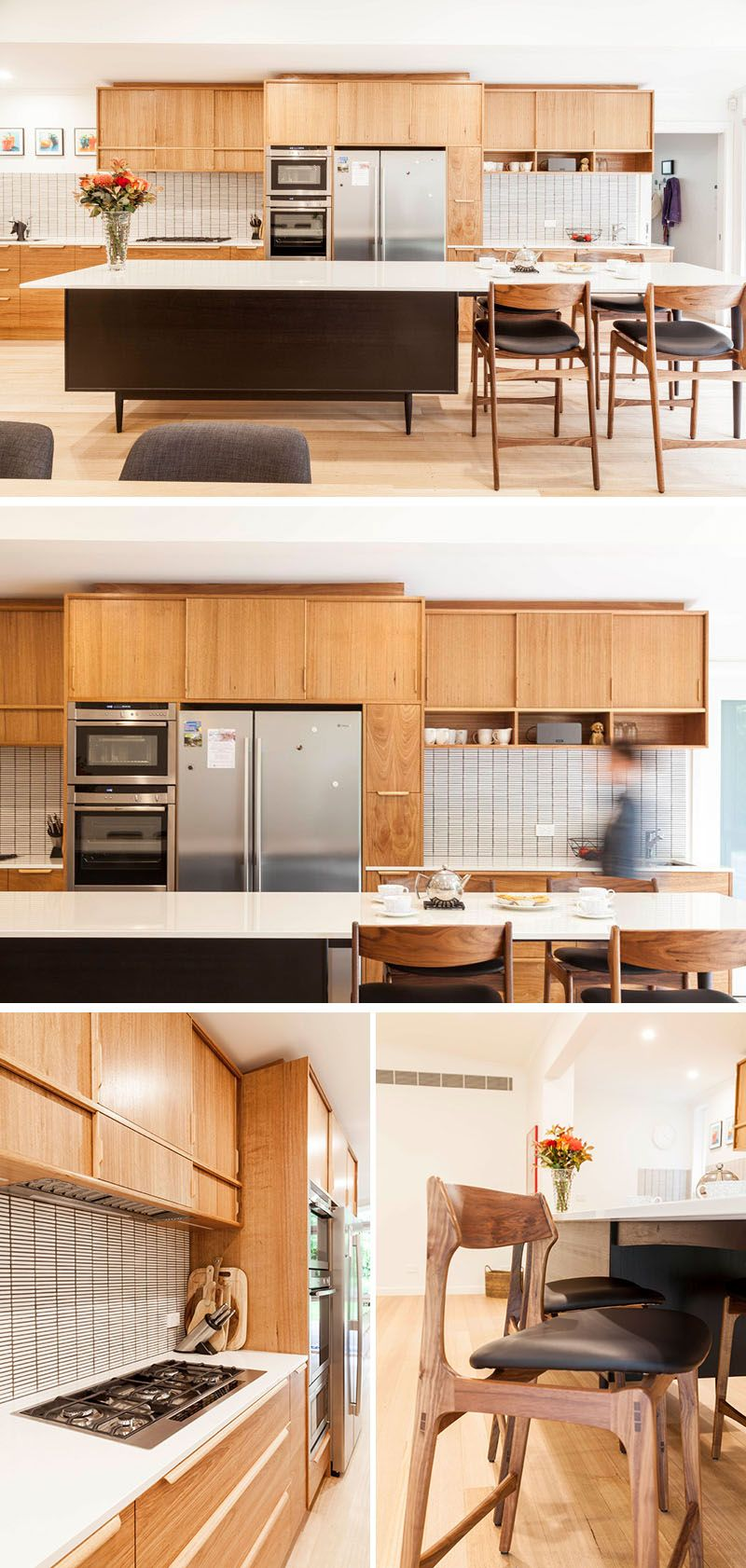 Detail 9 Architects Gave New Life To This Mid Century Modern House In Australia Modular Kitchen Cabinets Kitchen Renovation Modern Kitchen