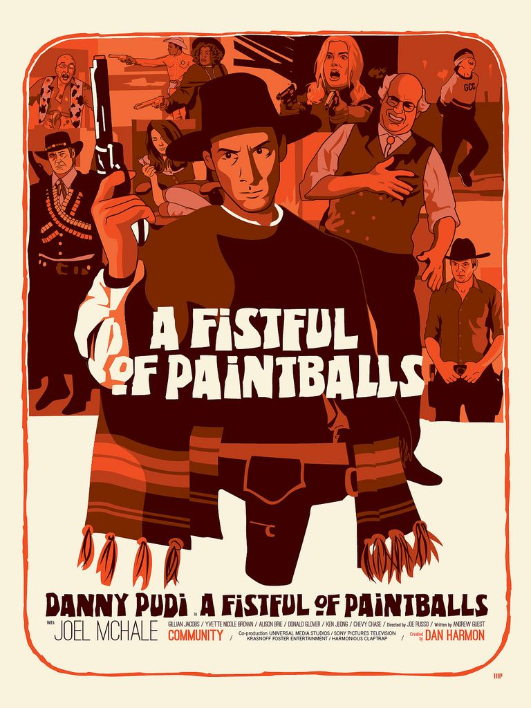 A Fistful of Paintballs, one of my favorite Community episodes