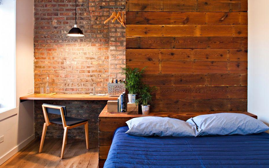 Best Small Hotels Exposed Brick Bedroom Hotel Room Design Exposed Brick Interior