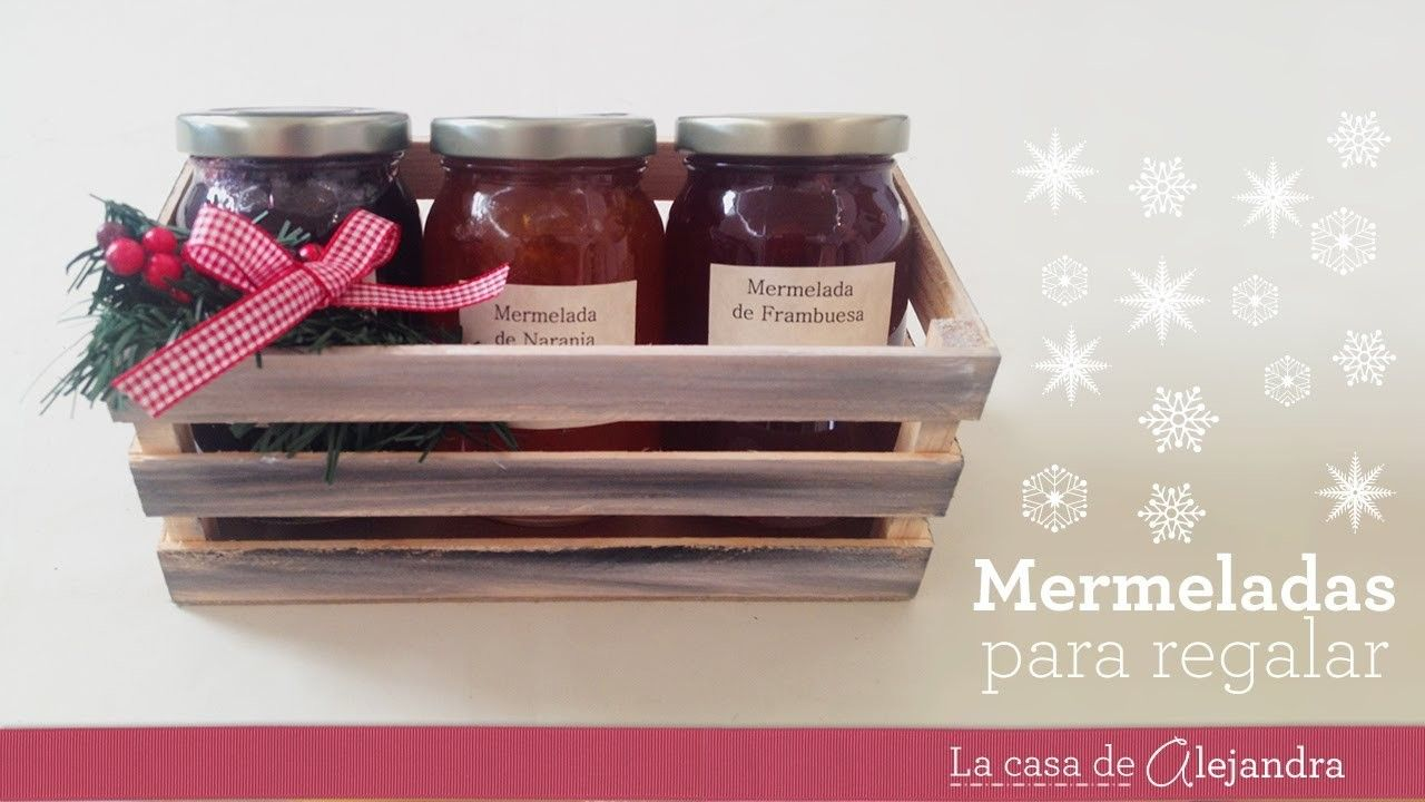 Regalo con mermeladas - DIY Gift with marmalades