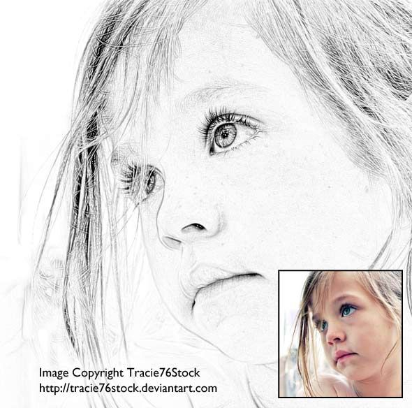 Tutorial an easier and better way to create a sketch in photoshop
