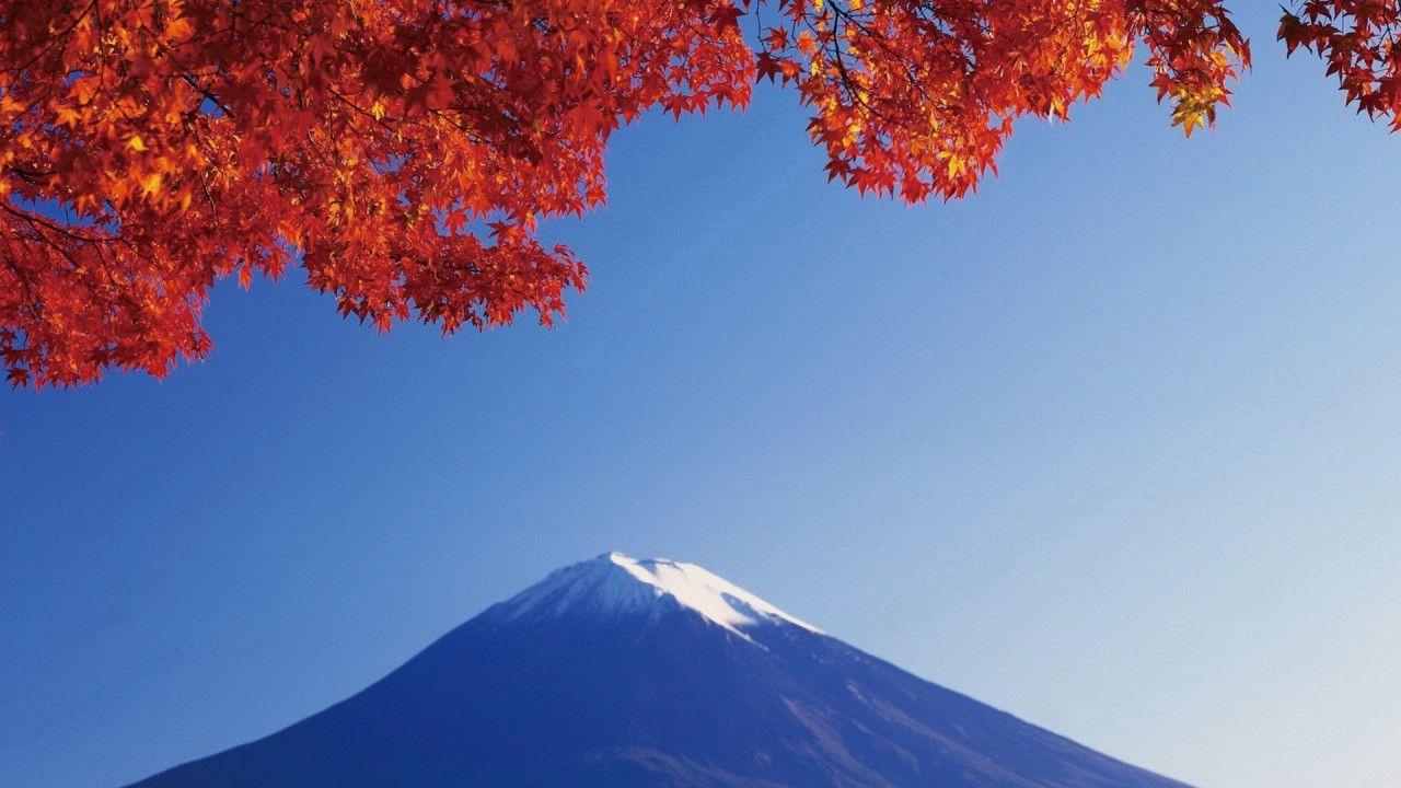 蓝色 风景 Mount fuji, Fuji, Autumnal equinox