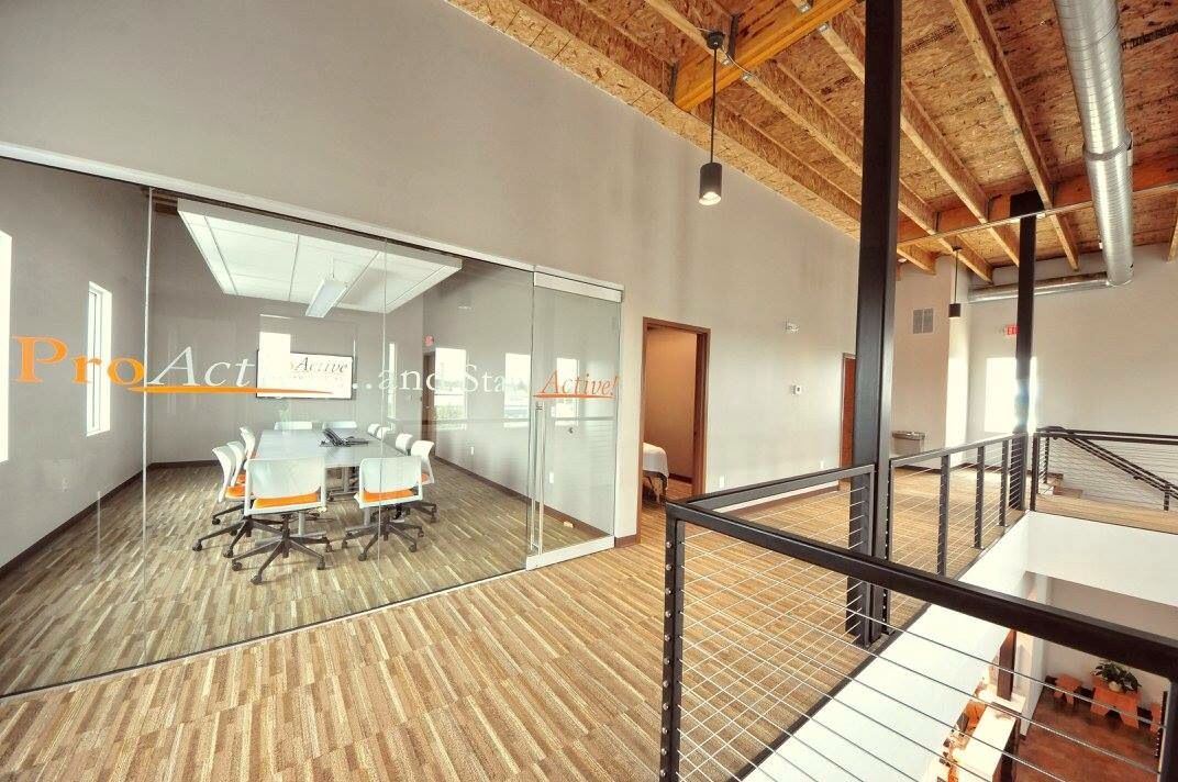 I Love The Conference Room With Glass Doors This Could Work In