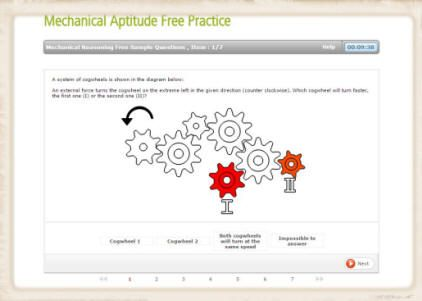 mechanical engineering career aptitude test Mechanical Training - career aptitude test