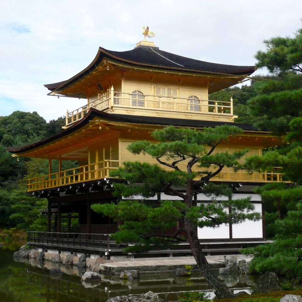 Kyotos famous golden pavilion is one of japans best