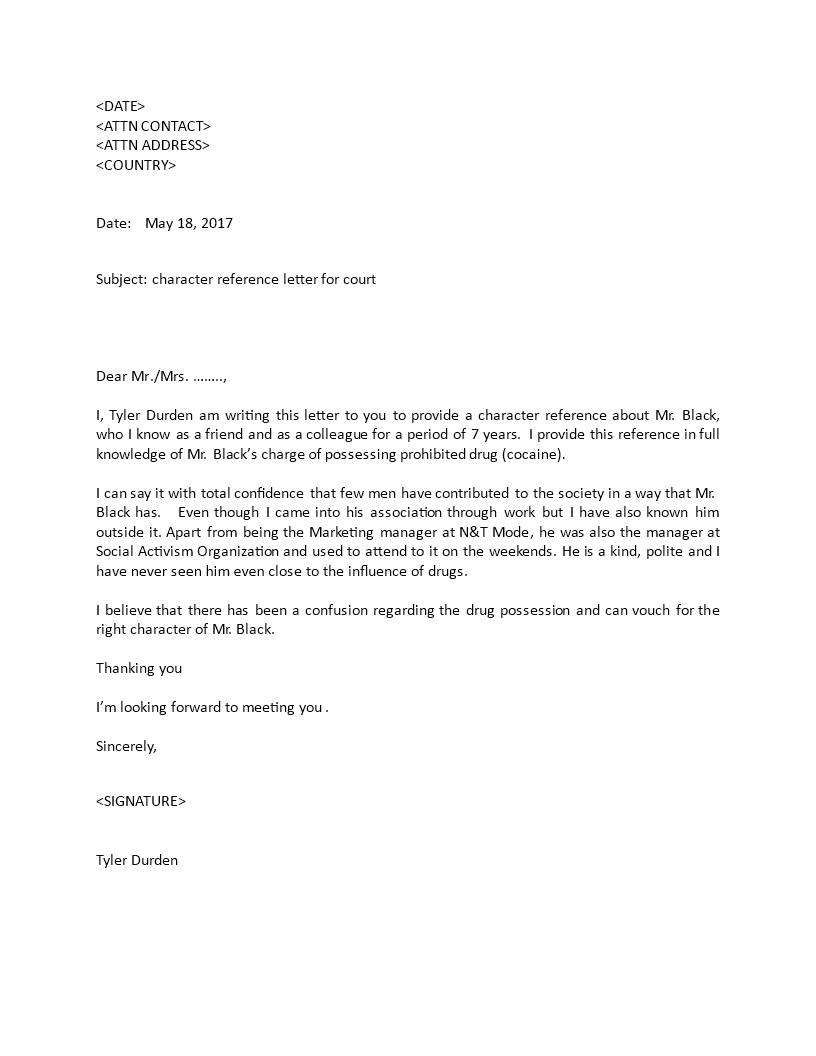 Character reference letter for court how to write a character character reference letter for court how to write a character reference download this character aljukfo Choice Image