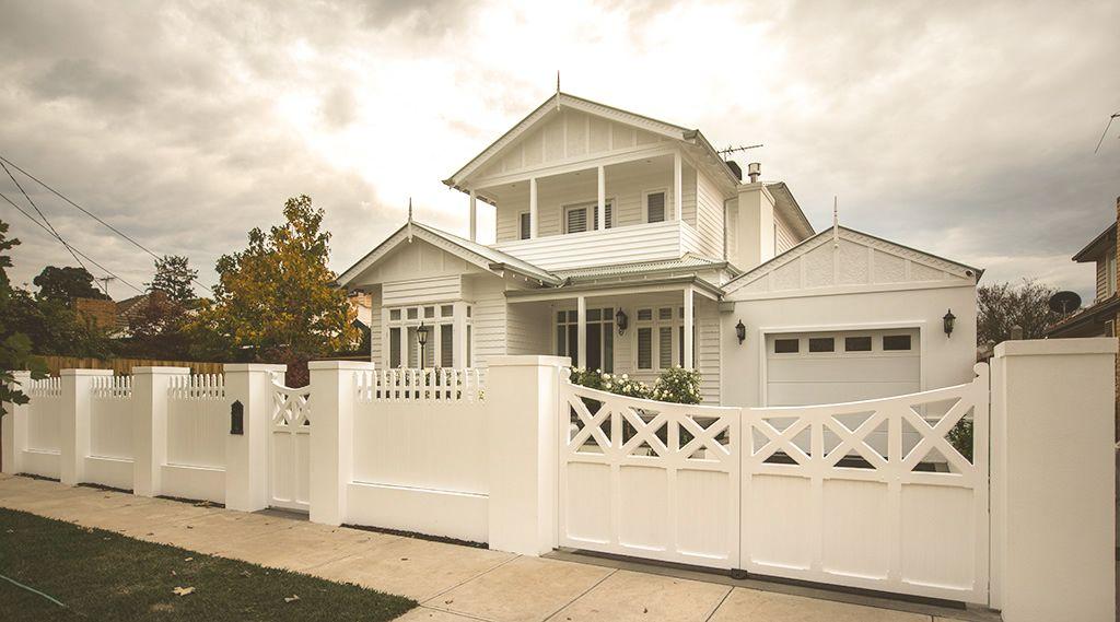 Image result for white picket gate | gates | Pinterest | Fences ...