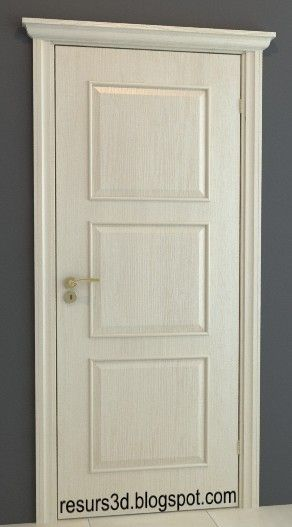 Door 3D model 07 3d models,free 3d models download