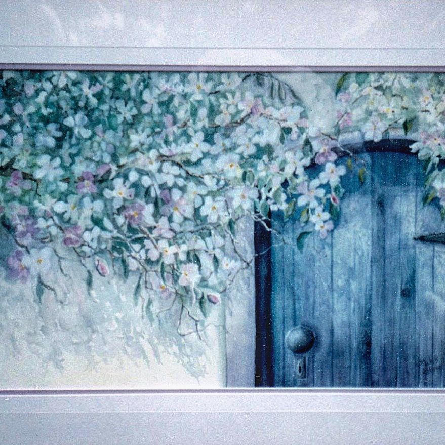 Blue Door Arches 140 lb cold press http://3-susan-wells.pixels.com