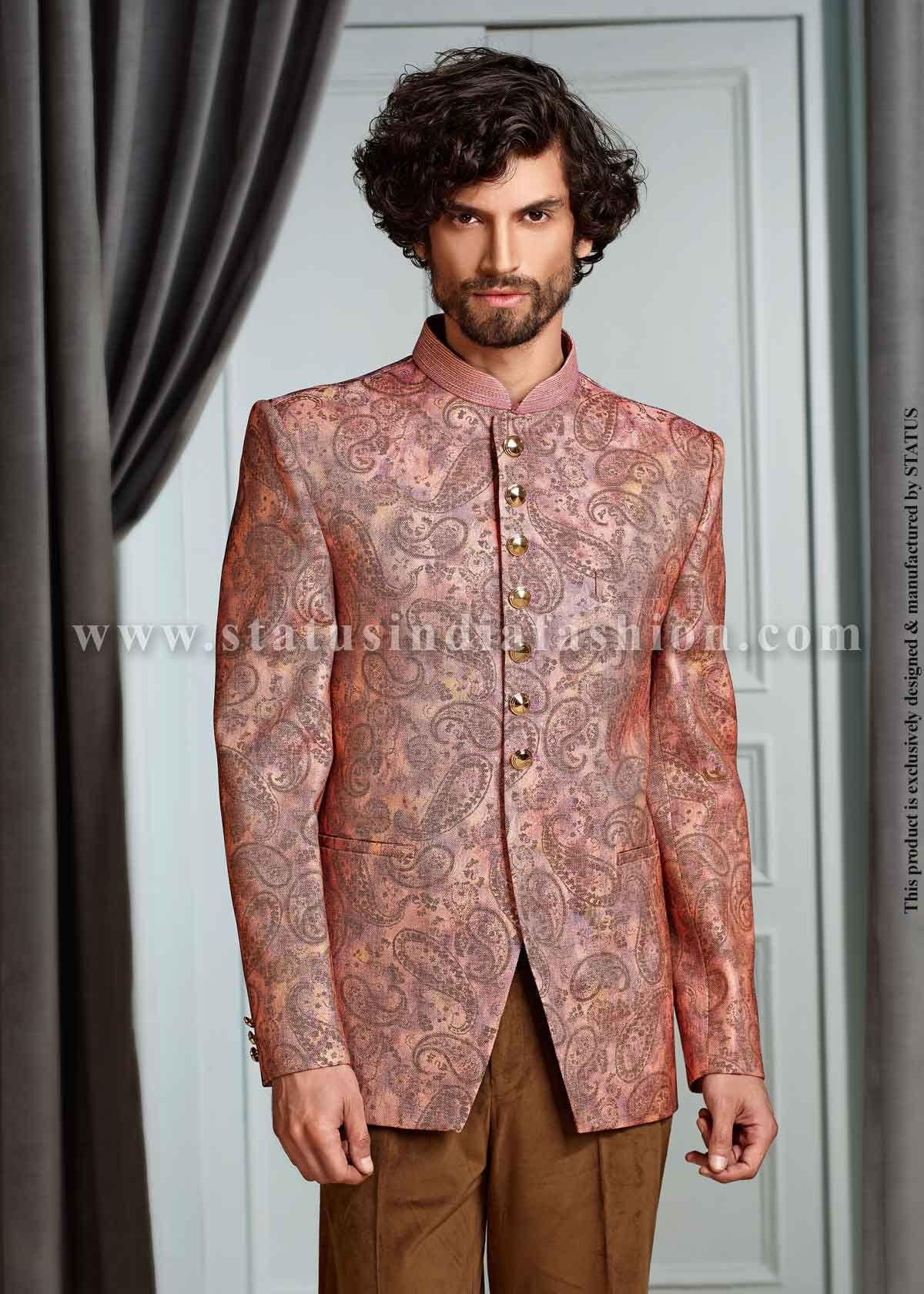Designer jodhpuri sherwani indian wedding wear groom sherwani