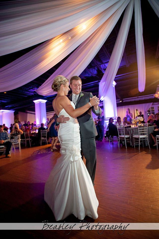 Elegant Wedding First Dance Beasley Photography Stratton Hall
