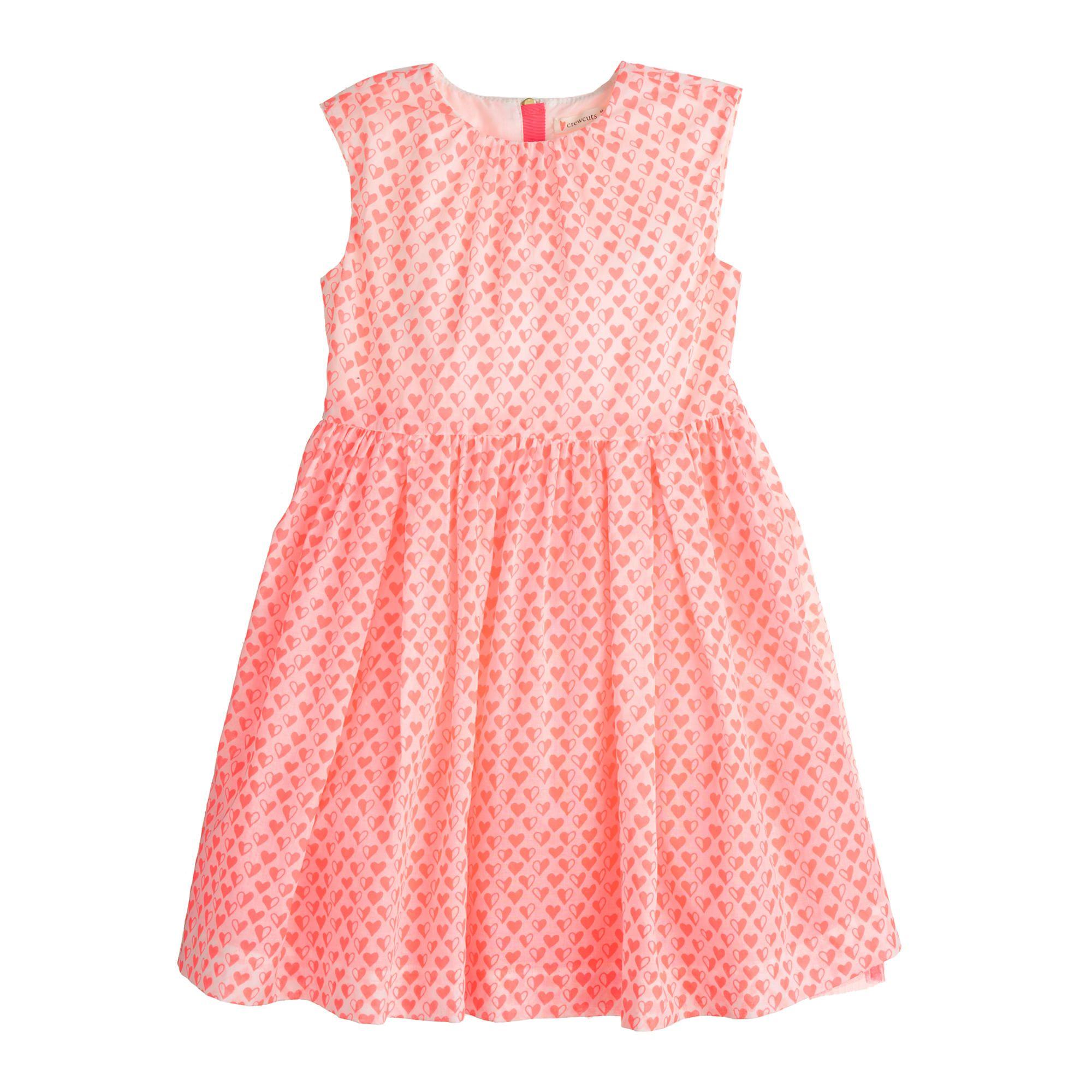 db1b3877662 J.Crew - Girls  mini heart dress