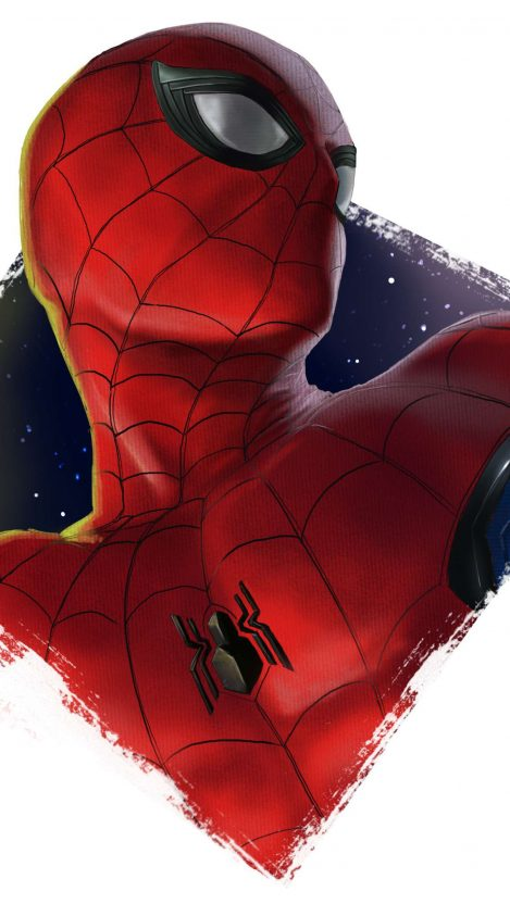 Spider Man Art iPhone Wallpaper Free GetintoPik