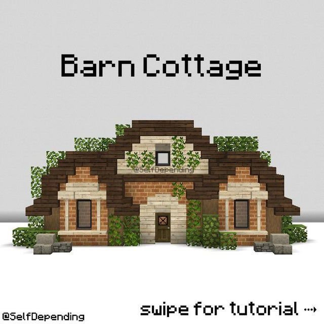 Quick barn cottage tutorial by me! :) Quick barn c