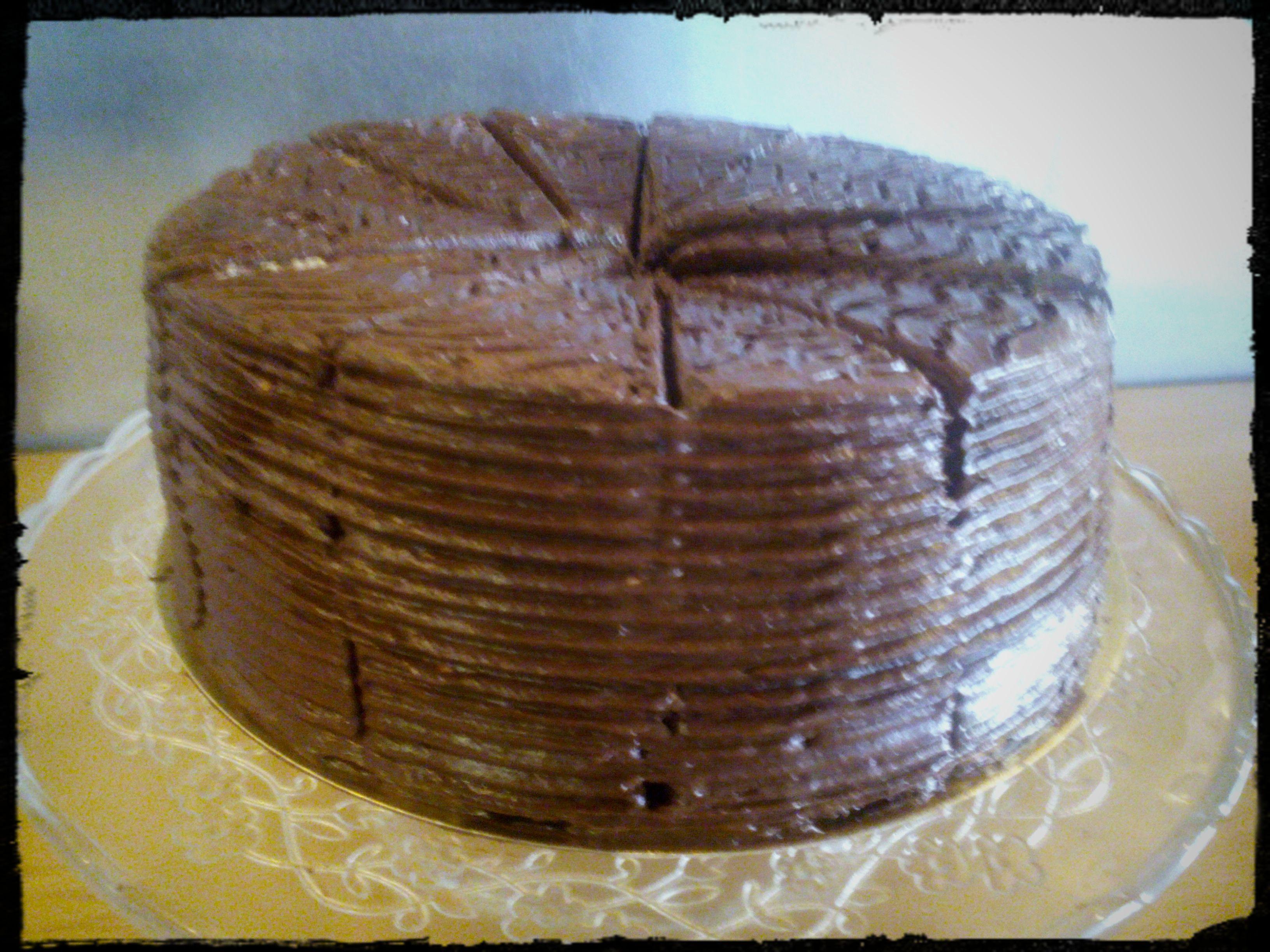 Un caprice pour Samedi: Le gâteau au chocolat