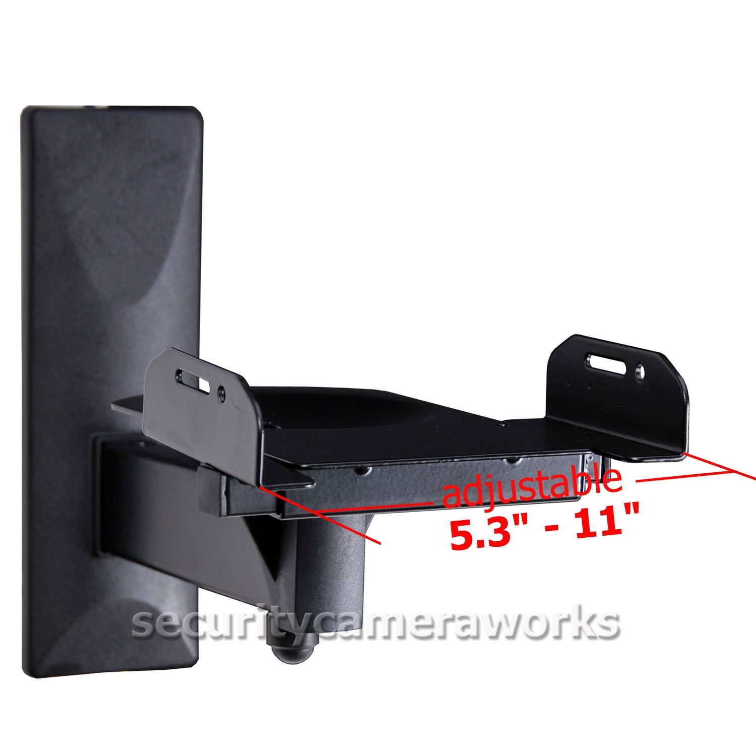 wall mount brackets for bookshelf speakers | http://bottomunion
