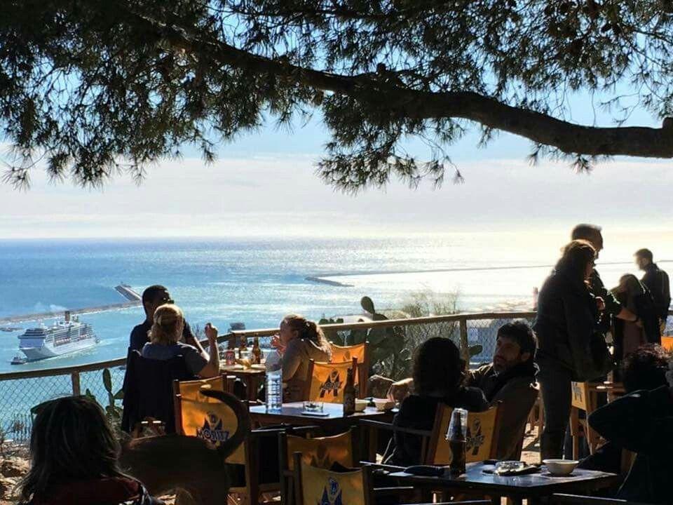 La Caseta Del Migdia Paradijselijk Barcelona Boven Op De Montjuic