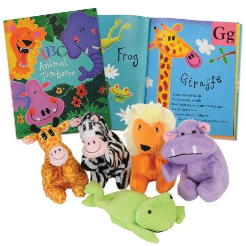 Paperback Book & ABC Puppet Set