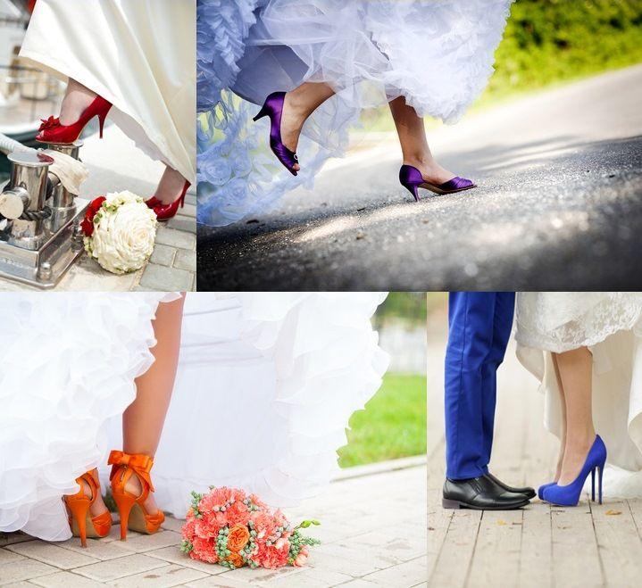 Zapatos de Novia de Colores | VESTIDOS | Pinterest | Zapatos de ...