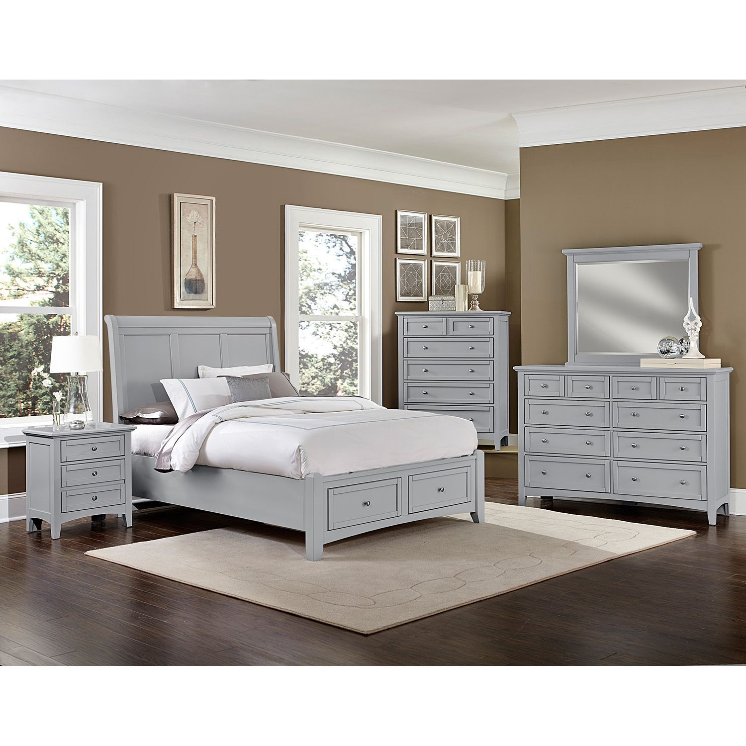 Hamilton Bedroom Furniture Set With Storage Sleigh Bed Sam S Club Bedroom Sets Sleigh Bedroom Set Bedroom Furniture Sets