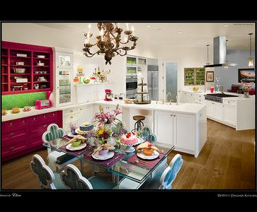 Cake Baker\'s Dream - Transitional - Kitchen - Los Angeles - DeWitt ...