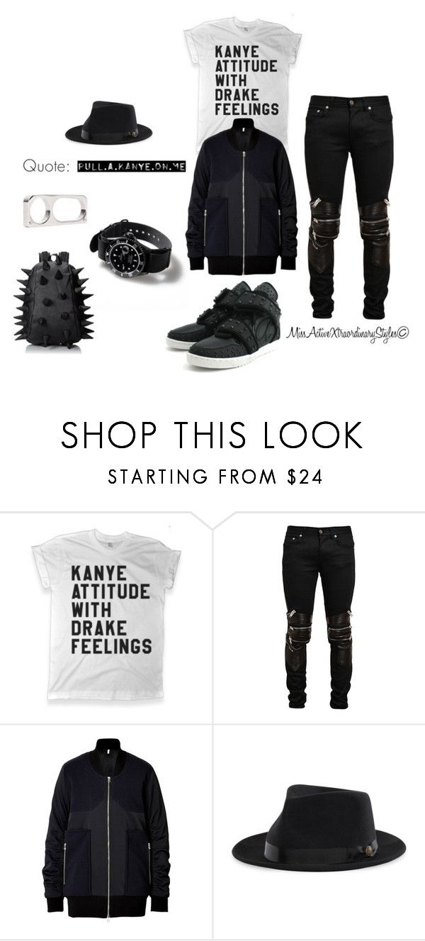 """""""Y3"""" by missactive-xtraordinary ❤ liked on Polyvore featuring TEN, HIDE, Yves Saint Laurent, Faith Connexion and MadPax"""