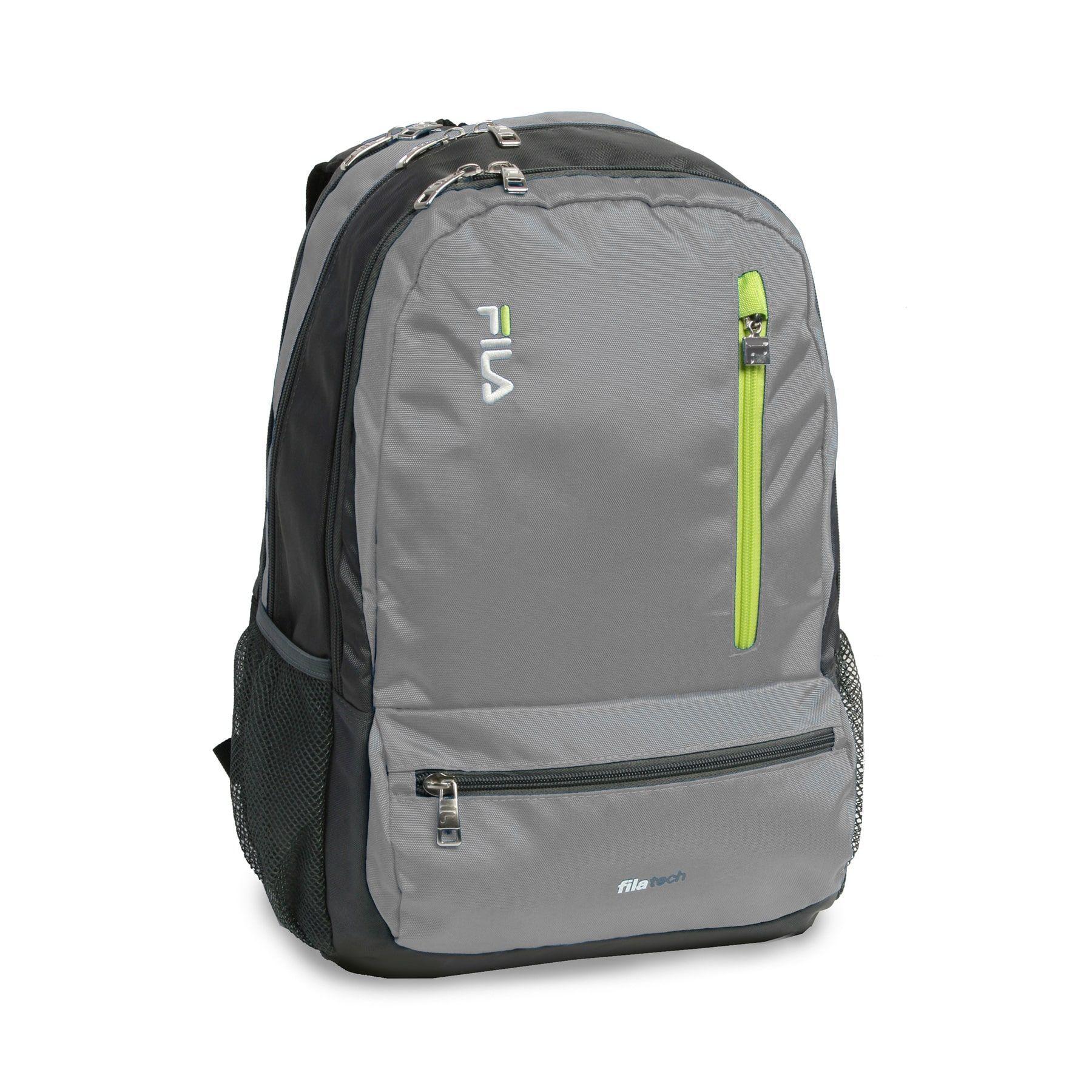 Fila Nexus Tablet and 15-inch Laptop School Backpack - 5 Pockets ... 14ab38820ec15