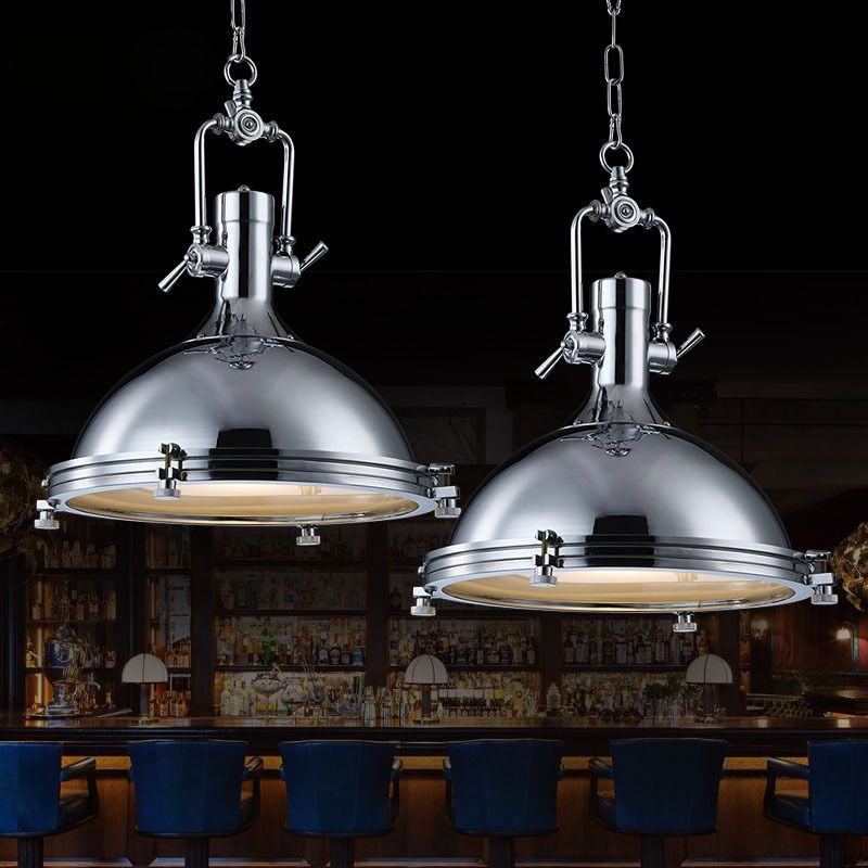 Find more pendant lights information about searchlight industrial 1 find more pendant lights information about searchlight industrial 1 light vintage chrome pendant light metal led aloadofball Gallery