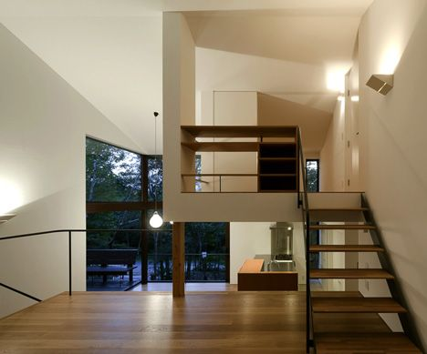S T A I R S - Tiered Lodge by Naoi Architecture