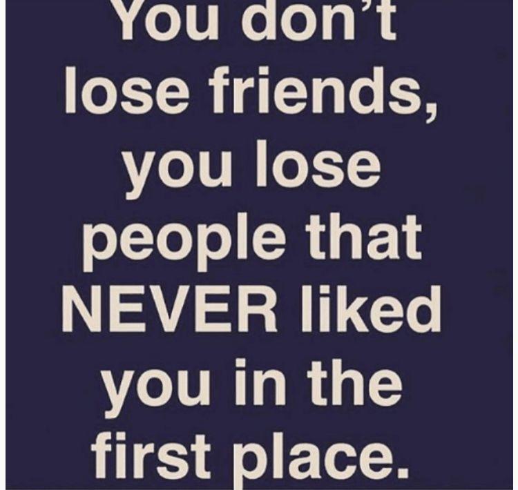 Friendships lost people losing friends friendship
