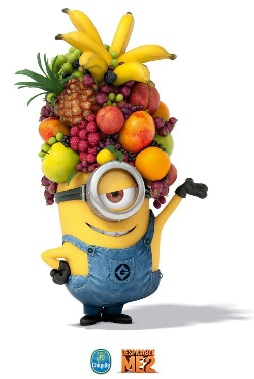 My Minion Carl The Fruit Hat Chiquita Sticker Sweepstakes My