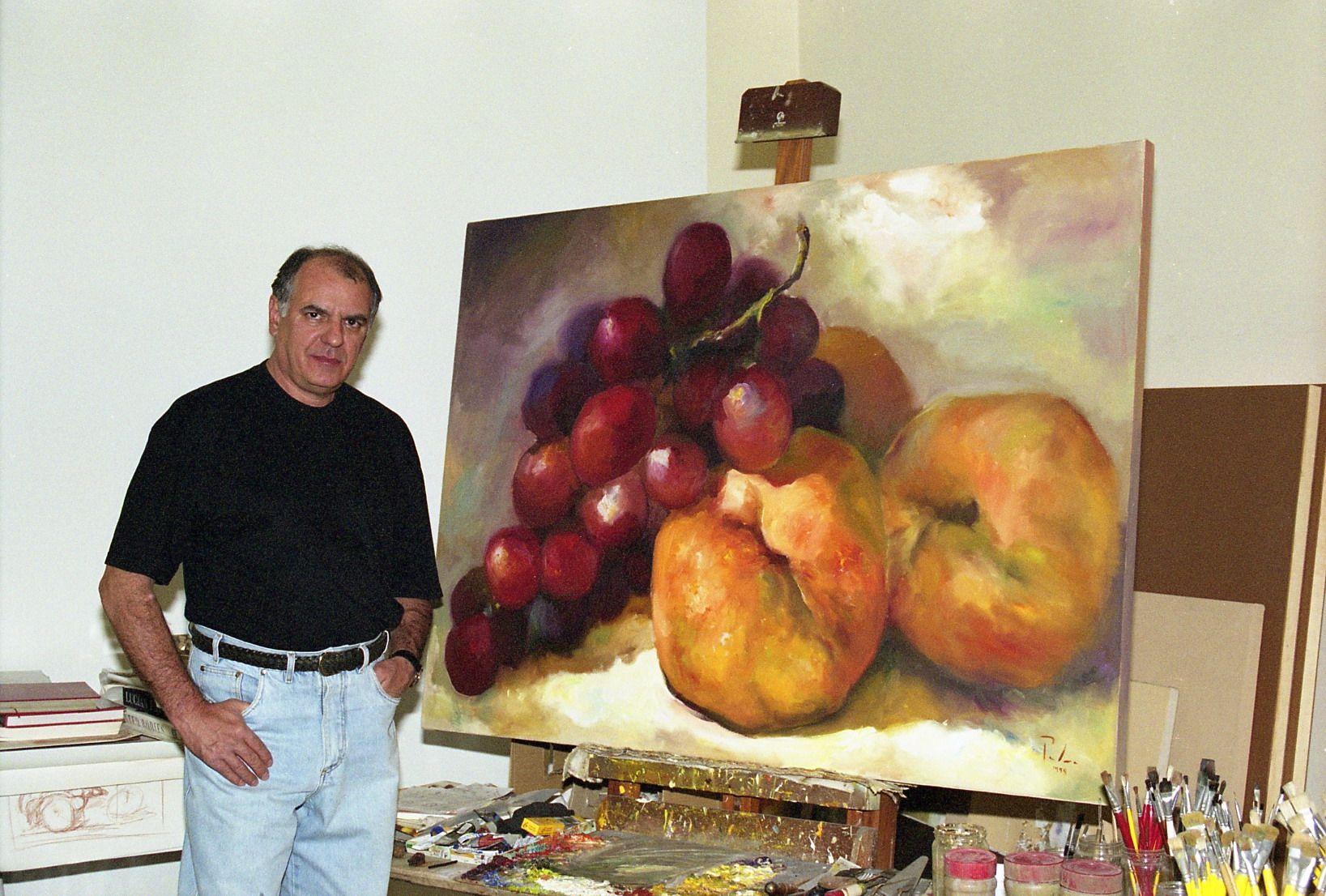 "Série: ""VIDAS SILENCIOSAS""- Óleo sobre tela - 110x160 cm - 1999 Series: ""SILENT LIVES"" - Oil on canvas Artist: Fernando Palma"