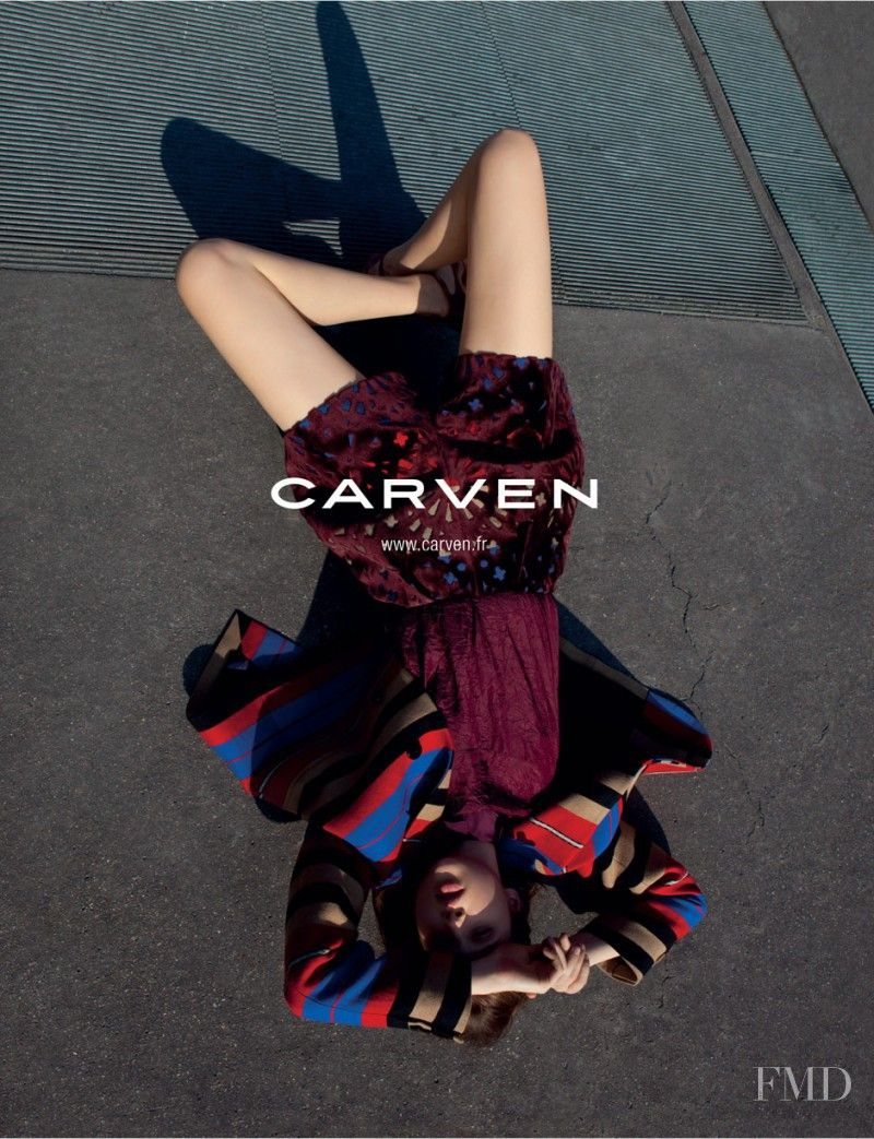 Photo feat. Anais Pouliot - Carven - Autumn/Winter 2012 Ready-to-Wear - Fashion Advertisement | Brands | The FMD #lovefmd