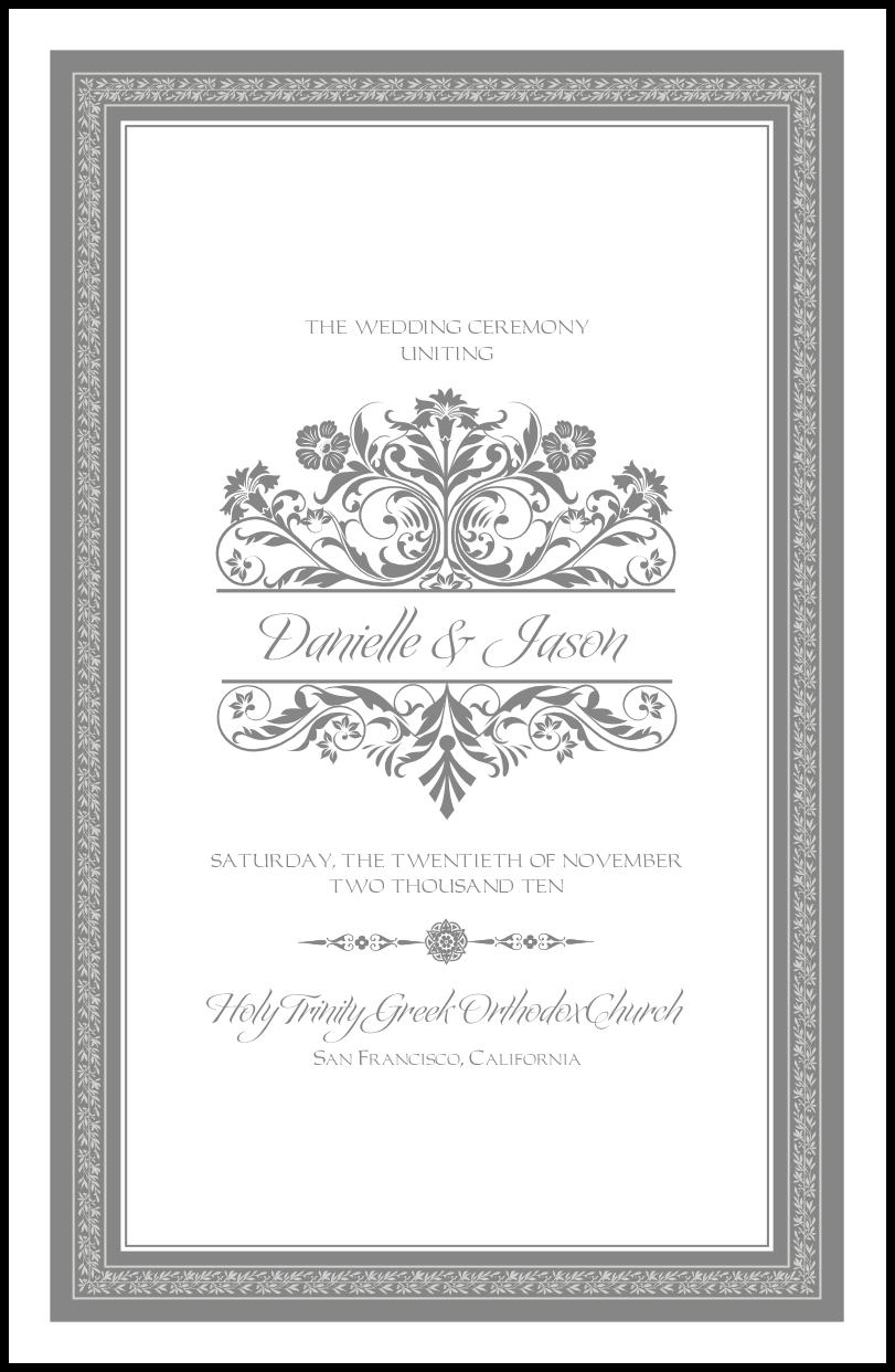 50 For 100 Orthodox Wedding Ceremony Church Program Greek And Russian Religious Programs