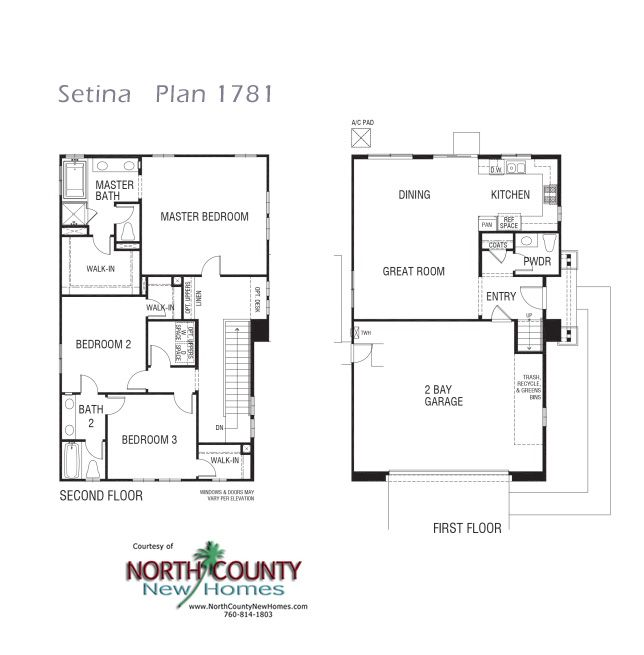 New Townhomes In San Marcos At Setina Floor Plans House Floor Plans House Plans