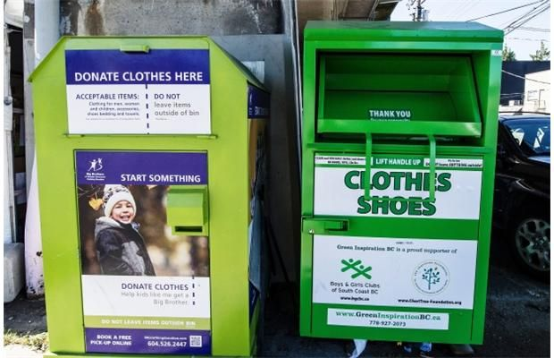 For-profit companies put the squeeze on charities' clothing donation bins