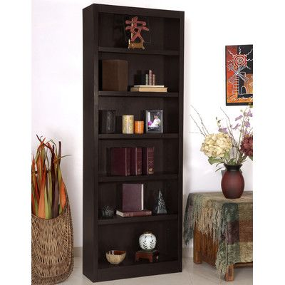 "Red Barrel Studio Port City 84"" Standard Bookcase Finish:"