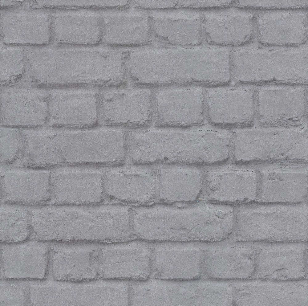Metallic Steel Brick, Wallpaper, 226751 | Pinterest