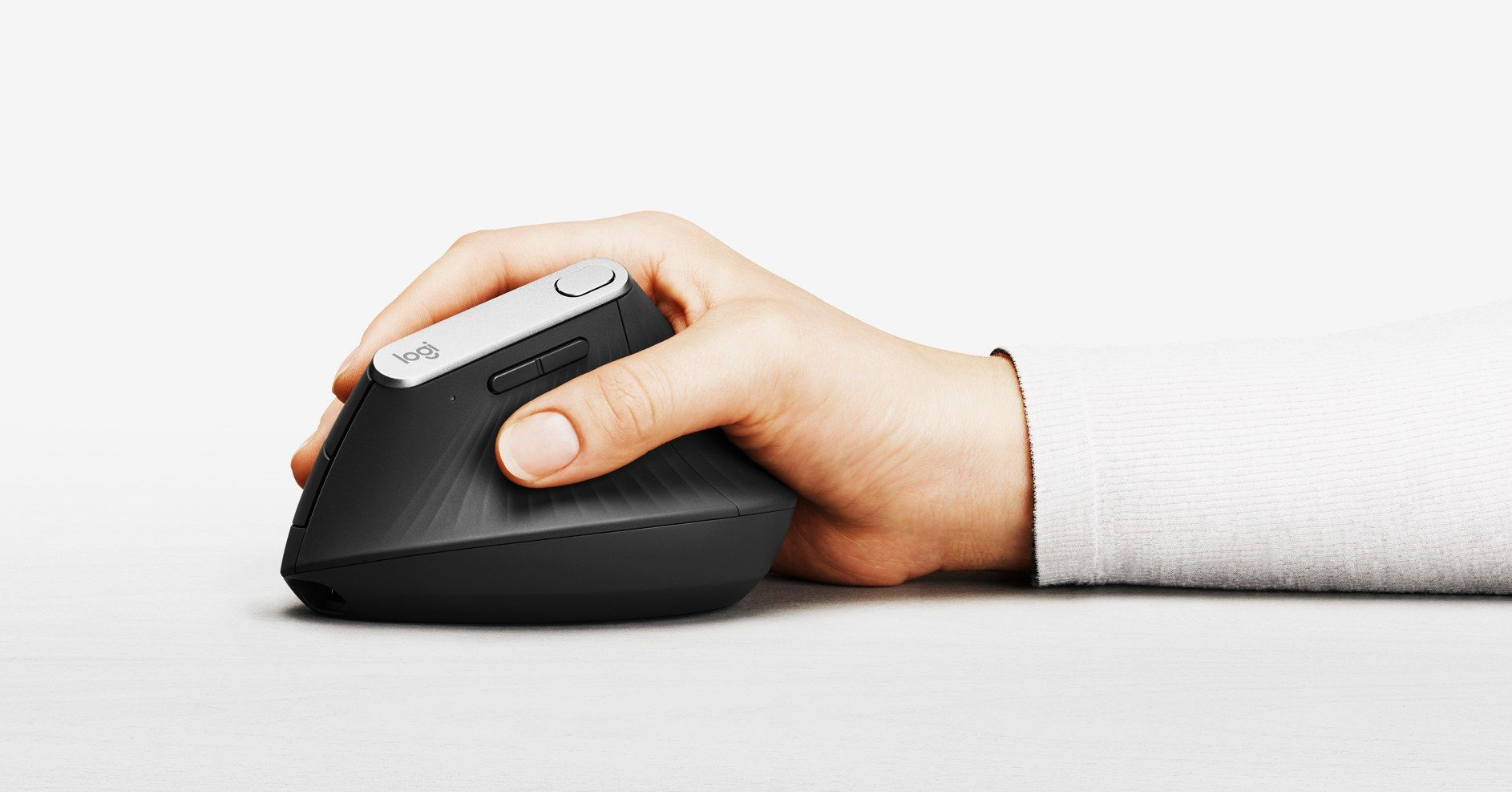 1d8640087a5 How Logitech Made a Vertical Mouse That Somehow Looks Great in 2019 ...