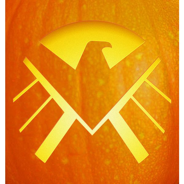 Free Pumpkin Carving Stencil Marvel U2019s Agents Of S H I E L